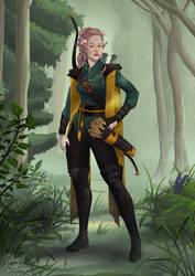 Talanah, Eladrin Ranger
