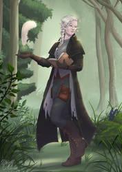 Baelen, Pallid Elf Wizard
