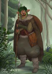 Kemen, Firbolg (Gelfling) Druid