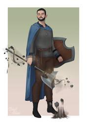 Jervis, Half Elf Paladin
