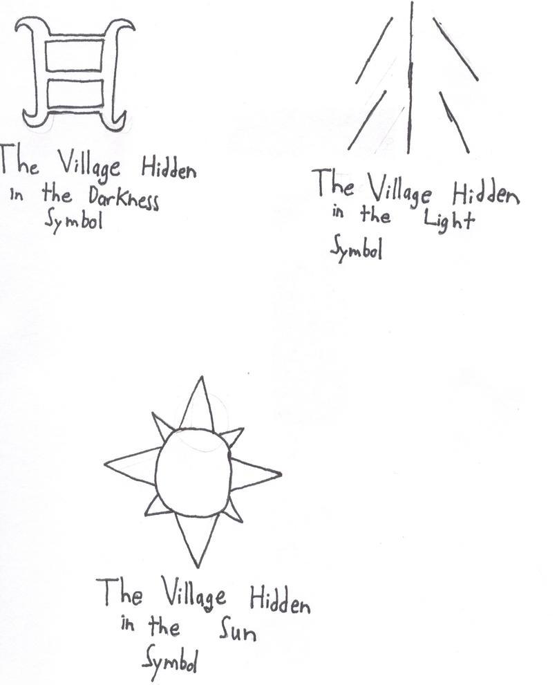 Original Ninja Village Symbols By Mzhamma On Deviantart