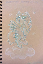 StarSketcher toned paper sketch by onnanoko