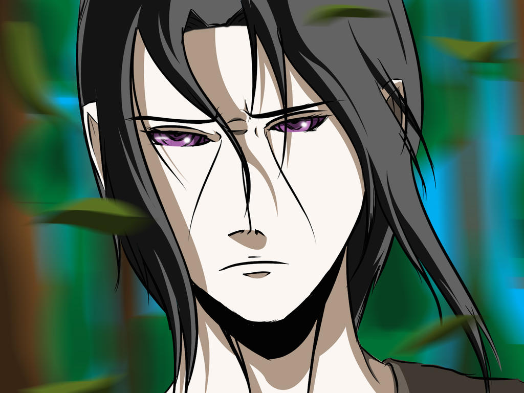 Itachi Uchiha A sexy beast with Rinnegan :D by mominkhan77 ...