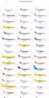International Airlines at Theben International Air