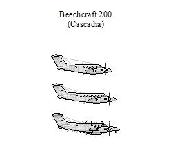Beechcraft 200 by CascadiaSB