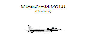 Mikoyan-Gurevich MiG 1.44 Flatpack