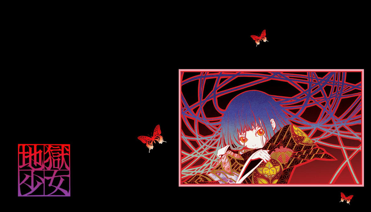 hell girl enma ai wallpaper 11 by shaluXangel