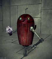 Steampunk Robot