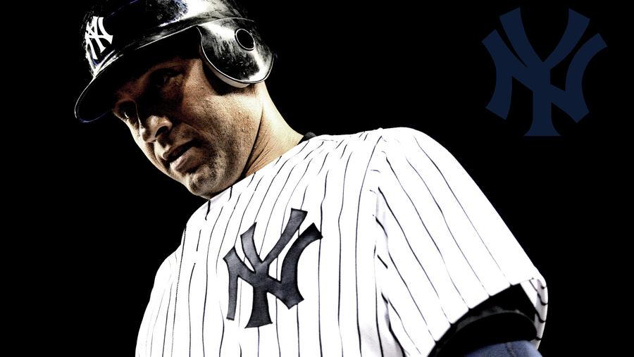 Derek Jeter New York Yankees Hd Wallpaper 2 By Jobachamberlain On Deviantart
