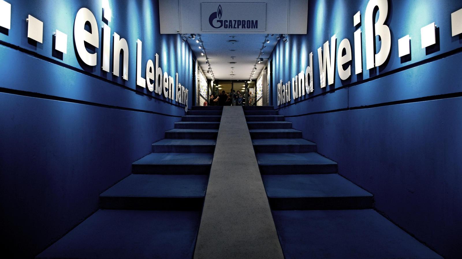 Veltins Arena Players Tunnel by JobaChamberlain