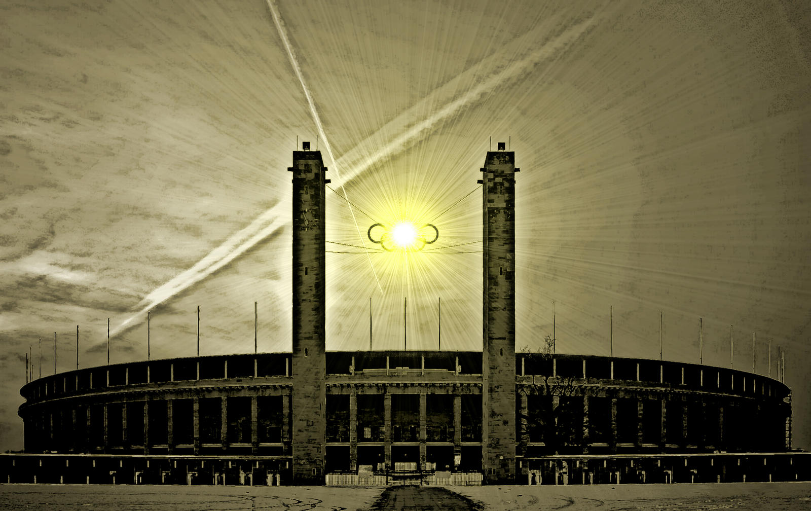 Olympic Stadium Berlin by JobaChamberlain