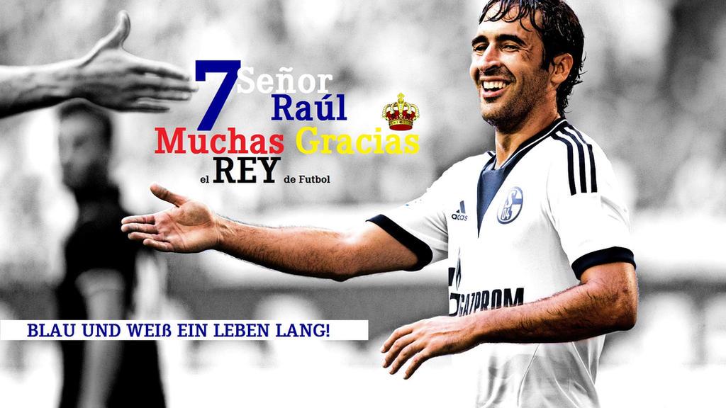 Muchas gracias el REY de futbol, 7 - Senor Raul by JobaChamberlain