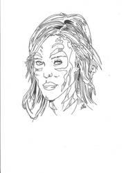 JESSICA ALBA AS THE WITCHBLADE