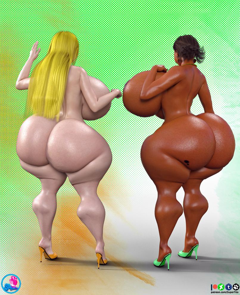 Cocoa n Cream Nude 2 by SuperTito