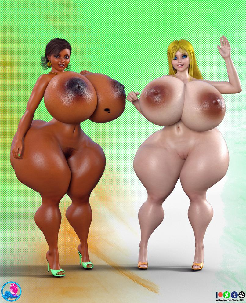Cocoa n Cream Nude by SuperTito