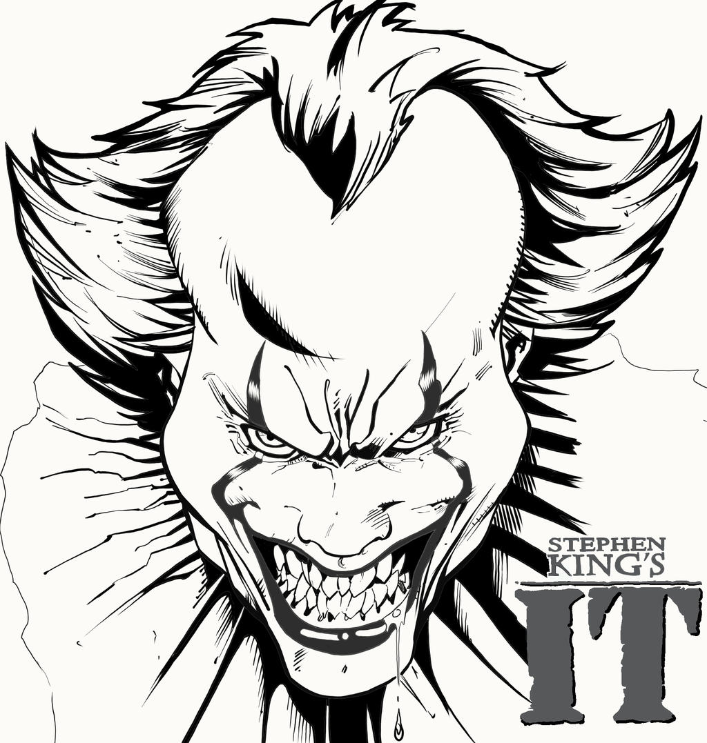 Pennywise - by ladjouze chahine by Pendecon on DeviantArt