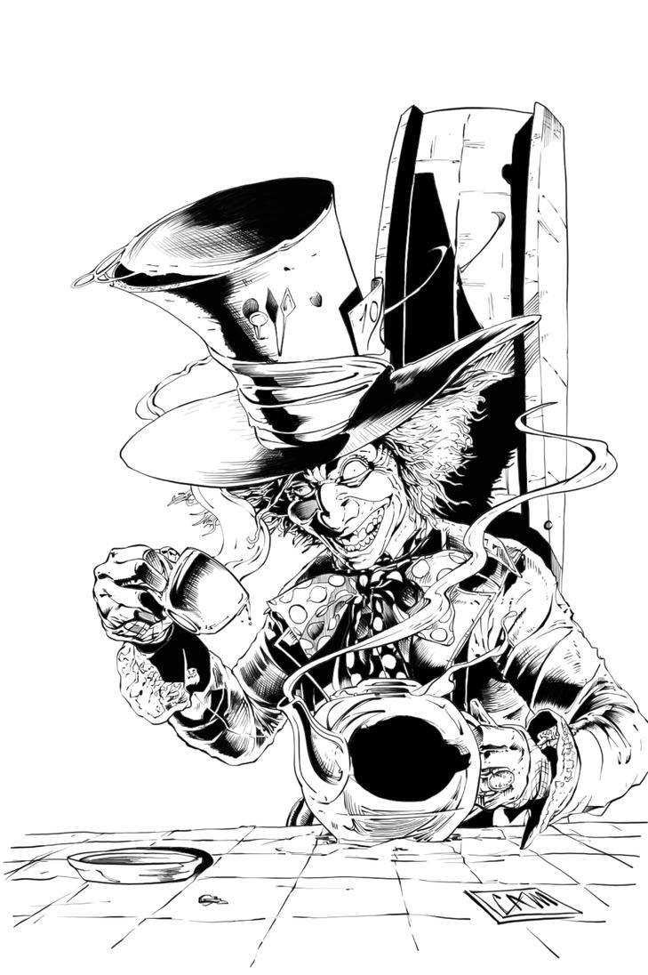 The Mad Hatter By Camadams Pendecon