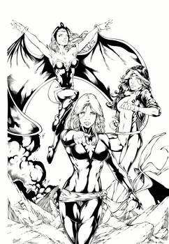 X-Girls by Leo Matos