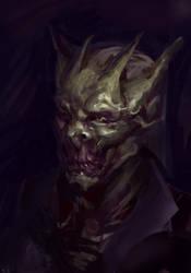 Headsketch - Alien/vampire