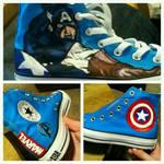 Captain America Converse