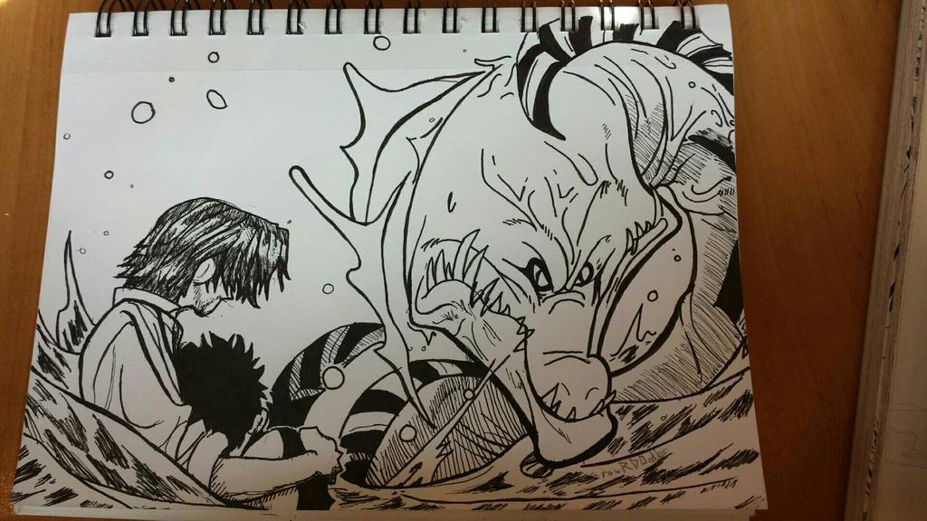 Shanks!  by rawrdoodles