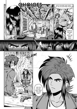 Manga short story page 1 - Choices
