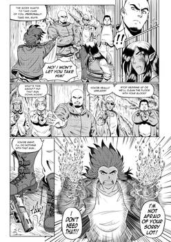 Manga short story page 4 - Choices