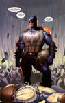 Superman and Batman Vs Aliens and Predator page 33