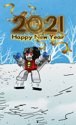 Happy Newyear 2021 Starscream