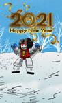 Happy Newyear 2021 Starscream by shatteredglasscomic
