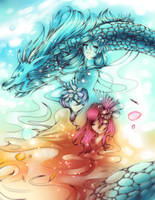 Fire and Ice by sukaikun