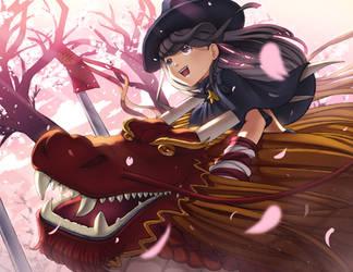 Riding Dragons by sukaikun