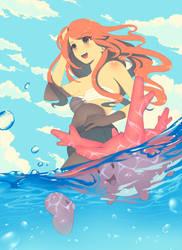 Pokemon Summer by sukaikun