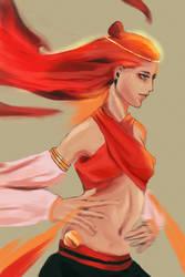 The Fiery Dance by gumwei