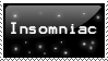 Insomniac stamp by Insanity-moron