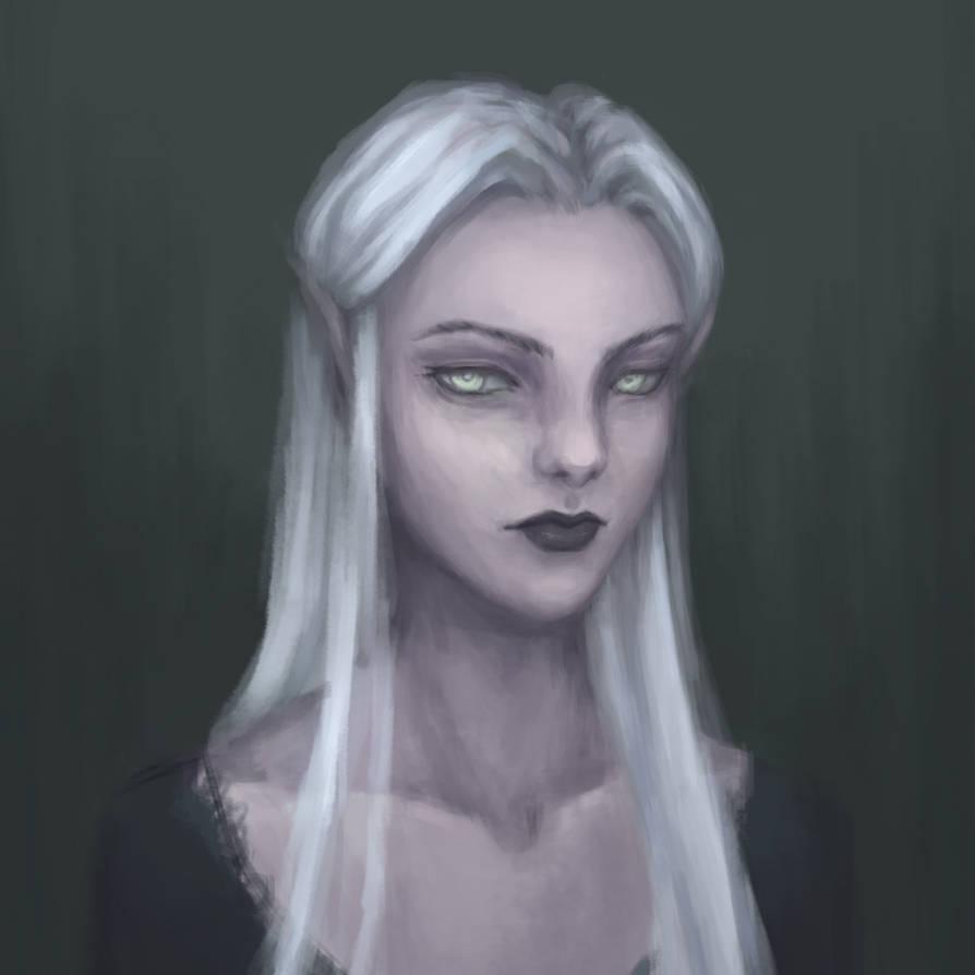 Elf portrait by SourSubstance