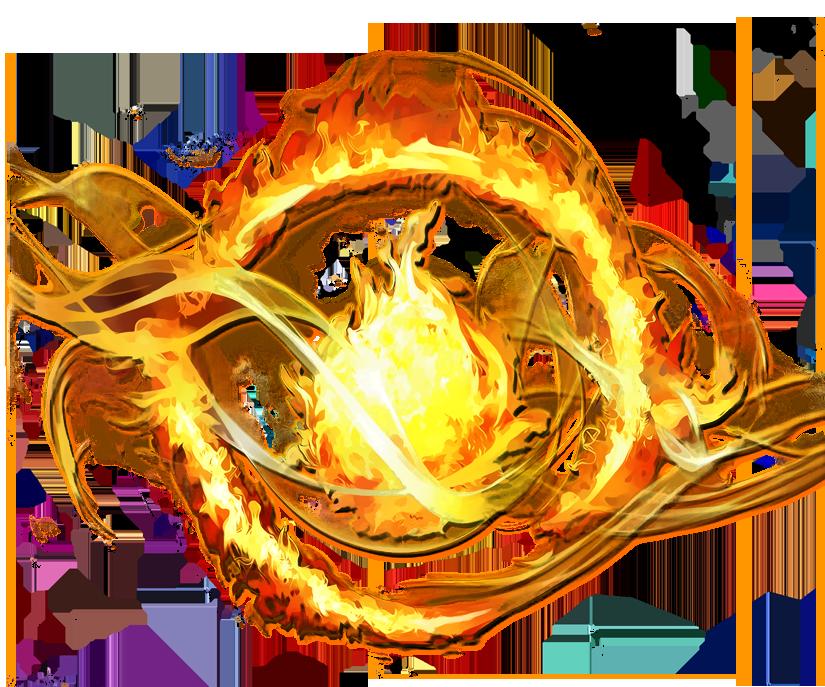 Orange Dauntless Logo Small (PNG) by Sashi0