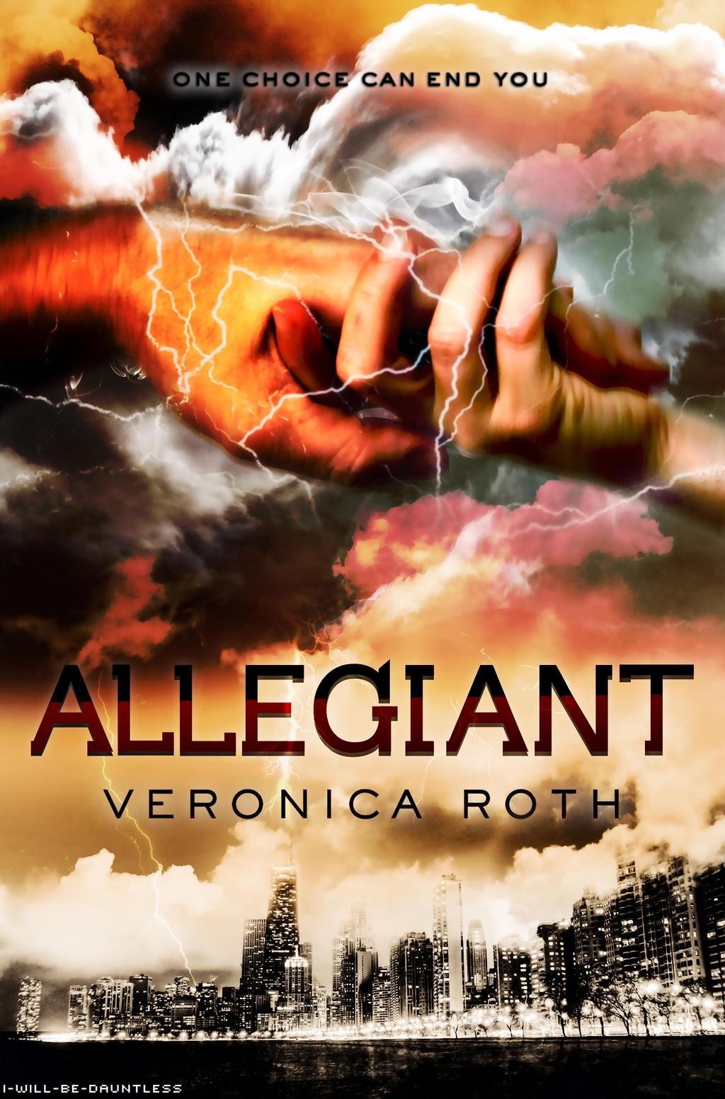 Allegiant Book Black Cover ~ Allegiant cover first draft by sashi on deviantart