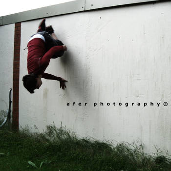 Crawl on the Wall by Afer-Photography