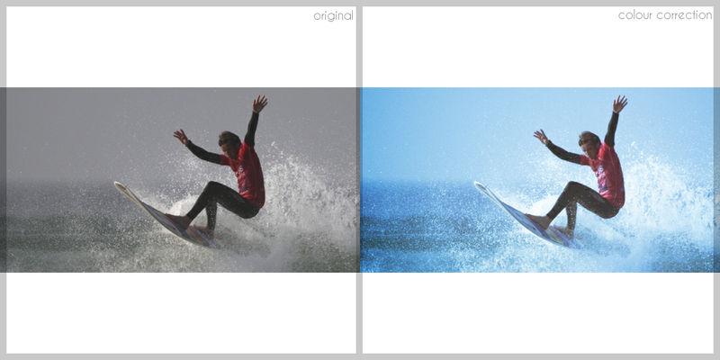 Surfer Colour Correction
