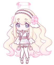 Cherry Blossom Tea Angel Custom Adopt