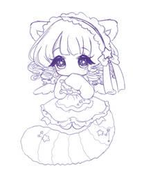 Chibi Cutie (Sketch)