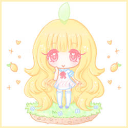 [Art Trade] Lemon-Mochi Chibi