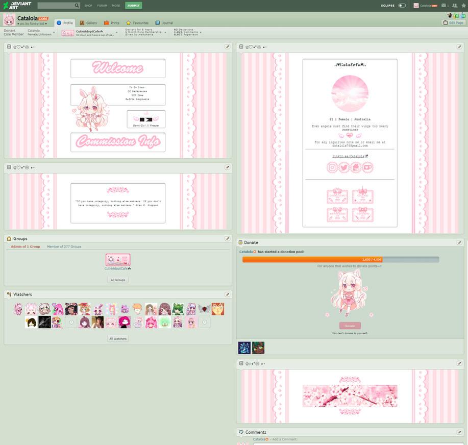 R.I.P. Customisation on a Website for Artists