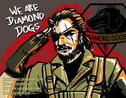 We Are Diamond Dogs - Snake Big Boss - MGSV by kozmica64