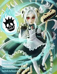 Marie Fanart (Skullgirls) by kozmica64