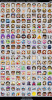 List of Twitch Emotes by Kozmica