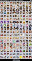 List of Twitch Emotes by Kozmica by kozmica64