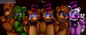 Freddy's generations [SpeedPaint]