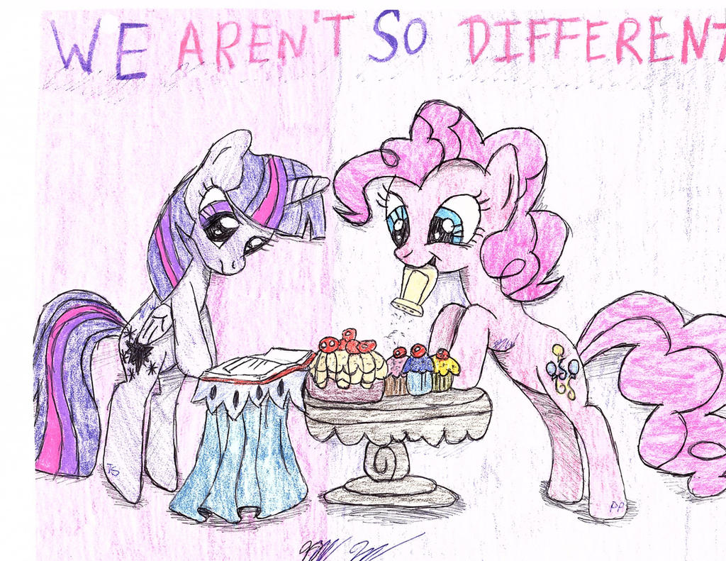 We Aren't So Different by BlueBookWard